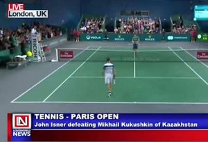 Mikhai Isner Barely Made It to the Next Round in Paris Open