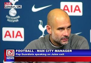 Man City Manager Speaks on Julen's Exit from Madrid