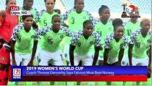 Nigeria in 2019 Women's World Cup