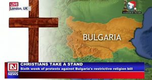 Christians in Bulgaria Protest Against Bulgaria's Restrictive Religion Bill
