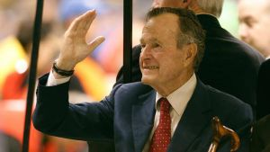 U.S. 41st President  George H. W. Bush Dies at Age 94
