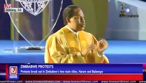 Prophetic Words about Zimbabwe Declared by Pastor Chris Oyakhilome