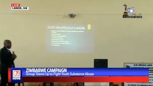 Campaign Against Youth Substance Abuse in Zimbabwe