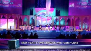 Celebrating Victory with Exhilarating Music and Arts at the New Year's Eve Service with Pastor Chris
