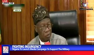 FG of Nigeria Media Campaign in Support of Fight Against Insurgency