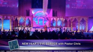 Highlights: Pastor Chris declares 2019 as The Year of LIGHTS!