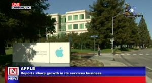 Apple Reports Sharp Growth in its Services
