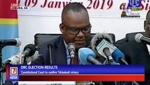 DRC Presidential Election Results