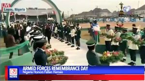 2019 Armed Forces Remembrance Day in Nigeria