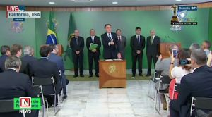 New President of Brazil Authorizes Ownership of Fire Arms
