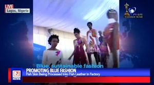 Fish leather Used in Promoting Blue Fashion in Kenya