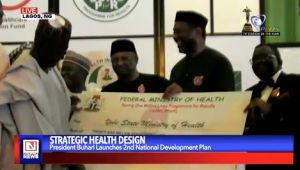 Buhari Launches Second National Strategic Health Development Plan