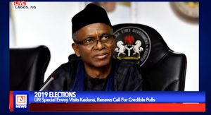 UN's Special Envoy Pays a Courtesy Visit to Kaduna Government Over Credible Polls