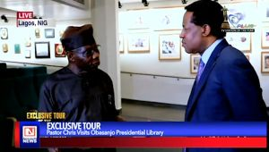 More on Pastor Chris' Exclusive Tour of Obasanjo Presidential Library