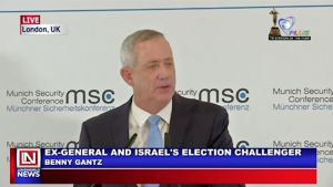 Israeli's Opposition Promises Proper Security if Elected into Office