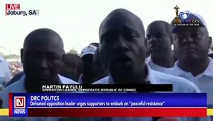 Post DRC Election Reactions: Martin Fayulu Claims winner of Election