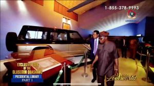 Pastor Chris' Tour of Olusegun Obasanjo Presidential Library LIVE on LoveWorld