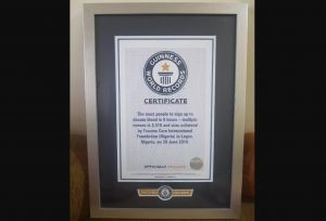 Pastor Chris' Trauma Care International Foundation Sets Guinness World Record