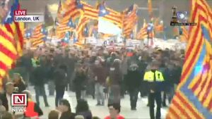 Many Protest Against Trial of Catalan Separatist Leaders