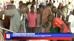 UN Food Program Team Delivers Services to Internally Displaced People in Nigeria's North East