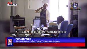 Sudanese Woman Stands Out as Wireless Engineer
