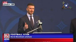 David Beckham Unveils New Community Field in Los Angeles