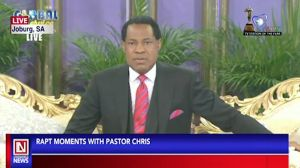 Rapt Moments with Pastor Chris