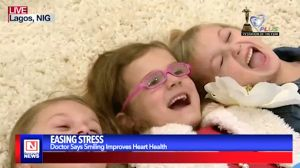 Smiling Eases Stress Just as Much as Exercise and Diet are Keys to Healthy Living