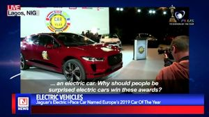 Jaguar's Electric I-Pace Car Named Europe's Car of the Year 2019