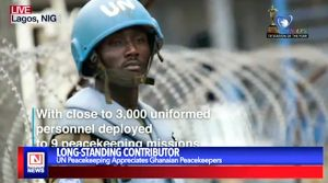 Ghanaian Peacekeepers Appreciated by the UN