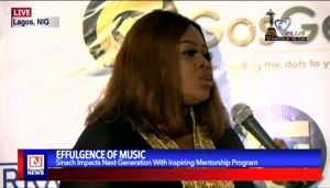 Gospel Artiste, Sinach Kicks Off Inspiring Mentorship Program for Younger Generation