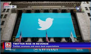 Twitter Score Increase in Revenue in First Quarter