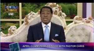 Pastor Chris Announces April 2019 to be 'the Month of Direction'!