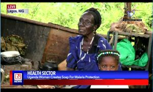 Woman Develops Soap to Fight Malaria in Uganda