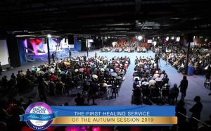 First Healing Service of 2019 Autumn Session Commences with Great Expectation
