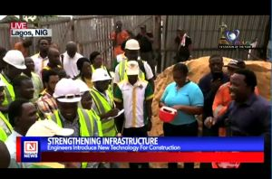 Nigerian Engineers Introduce New Building Material