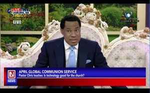 Pastor Chris Enlightens Global Congregation on Technology and the Church