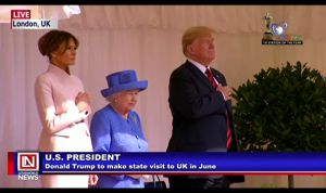 President Trump to Make State Visit to Buckingham Palace in June