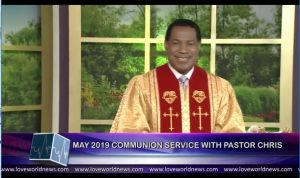 """[May 2019] is the Month of LEADERSHIP!"" — Pastor Chris to Global Congregants"