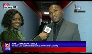 Studio Guests at the May Global Communion Service Speak on their Experience
