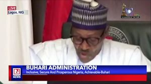 Buhari Expresses Confidence in His Goal to Build Inclusive, Secure and Prosperous Nigeria