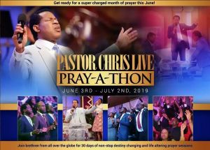Pastor Chris Live Prayer Partners Spread God's Cities through Ceaseless Prayers