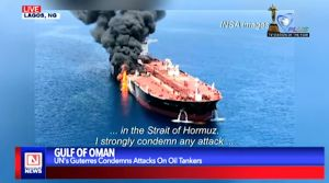 UN Secretary General Condemns Suspected Attacks on Oil Tankers in Gulf of Oman