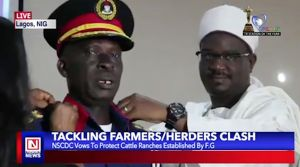 NSCDC Vows to Protect Cattle Ranches Established by Federal Government