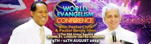 Gear up for World Evangelism Conference with Pastor Chris & Pastor Benny Hinn