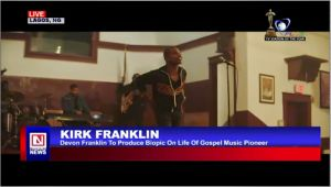 Devon Franklin To Produce a Biopic Movie on Gospel Artiste, Kirk Franklin