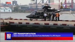 Uber Customers to Order for Helicopter Service