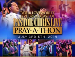 30 Days Pray-A-Thon With Pastor Chris Concludes Blissfully