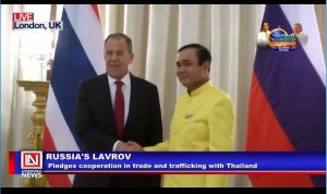 Russia Pledges Cooperation with Thailand on Trade and Security