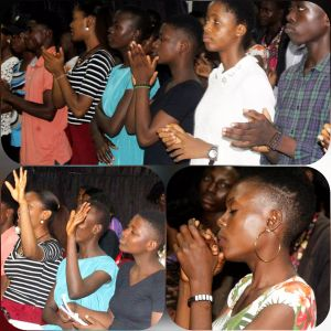 Ecstasy Brews as 'CE Calabar Ministry Center' Teenagers Pep up for Soul Winning